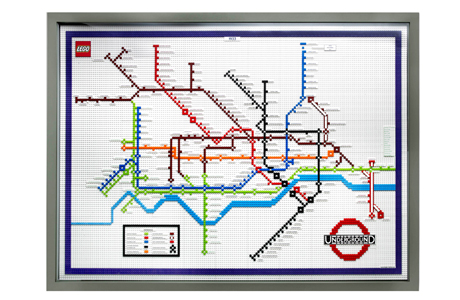 London Tube celebrates its 150th birthday ... check out this Lego map. (AP)