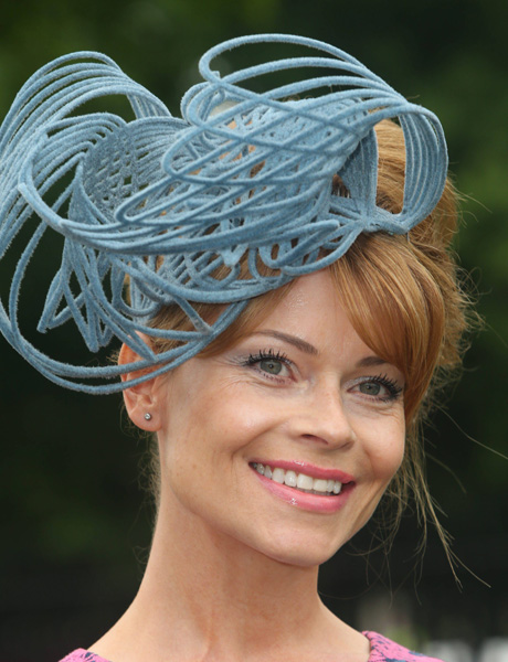 This rope-like hat (AP)