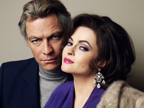 Dominic West and Helena Bonham Carter as Richard Burton and Elizabeth Taylor. (Photo: BBC AMERICA)