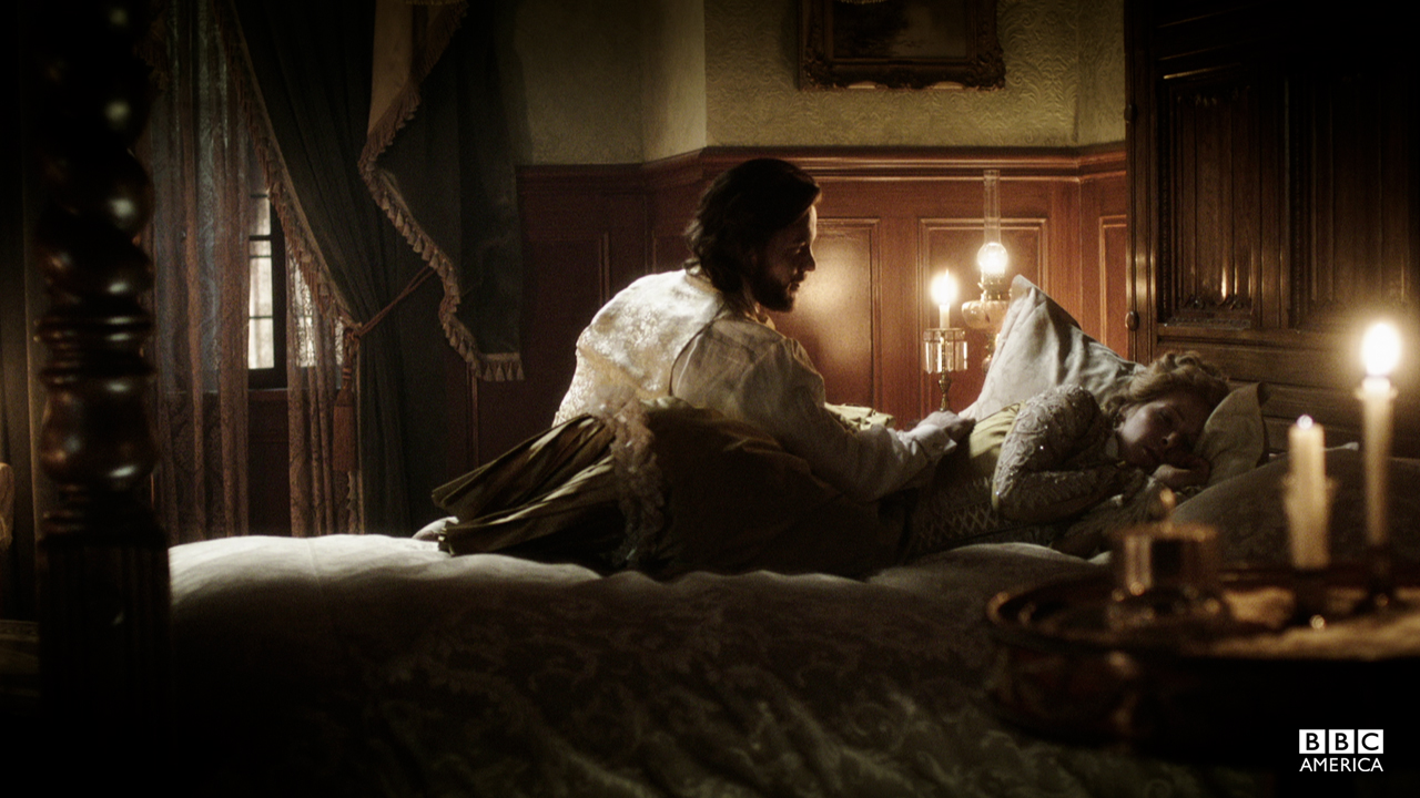 """""""This isn't how I imagined our wedding night..."""""""