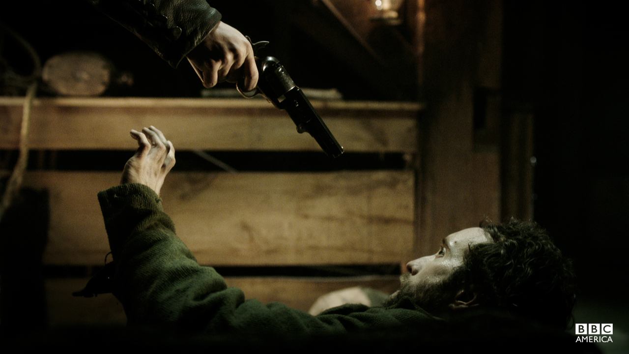Detective Corcoran confronts Brogan McGrath.