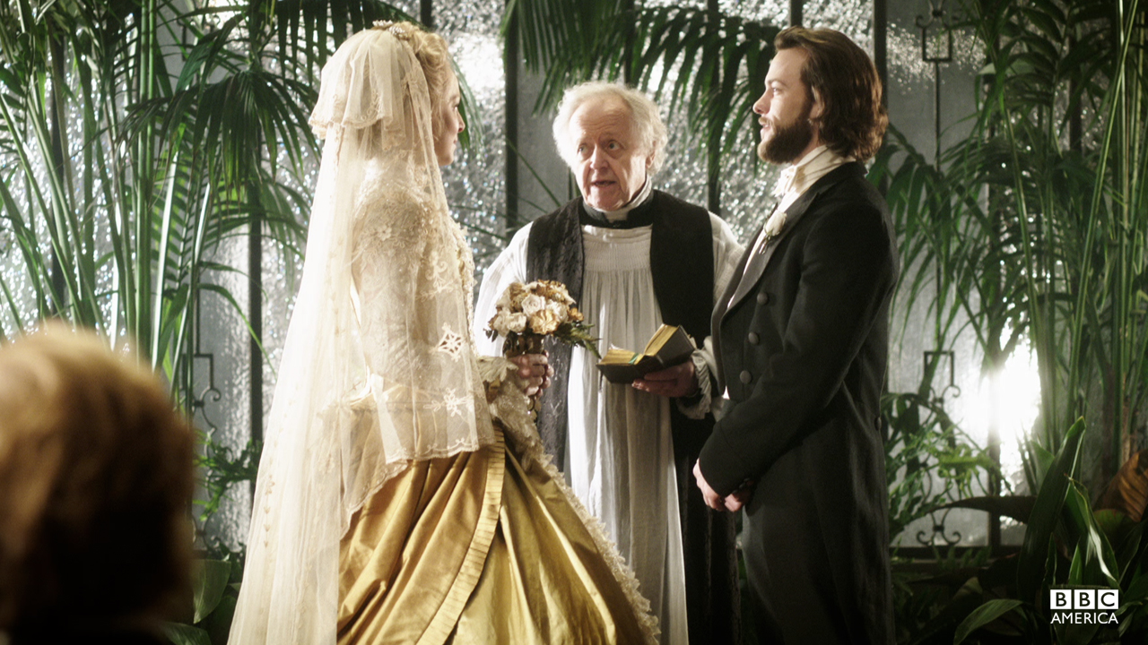 Robert and Elizabeth are finally married.