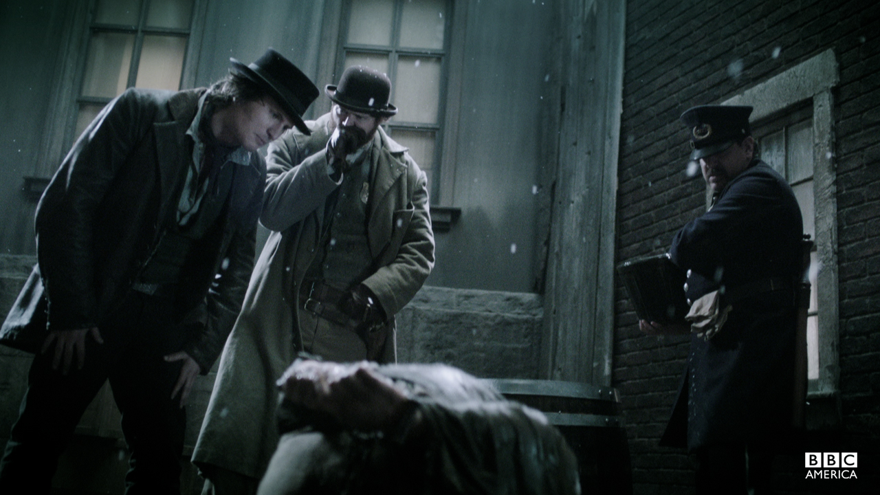 Detectives Corcoran and O'Brien interrogate Doman about the missing boys.
