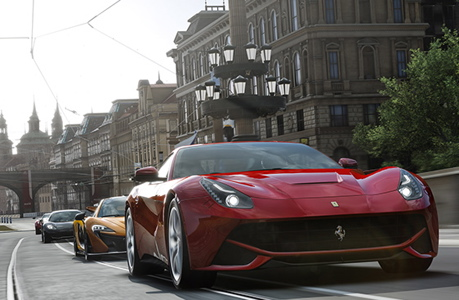 Forza Motorsport 5 will feature Top Gear's three guys. (Forza Motorsport)
