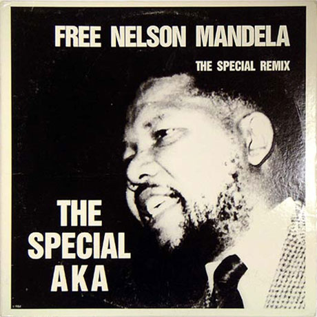 "The cover of ""Free Nelson Mandela"""