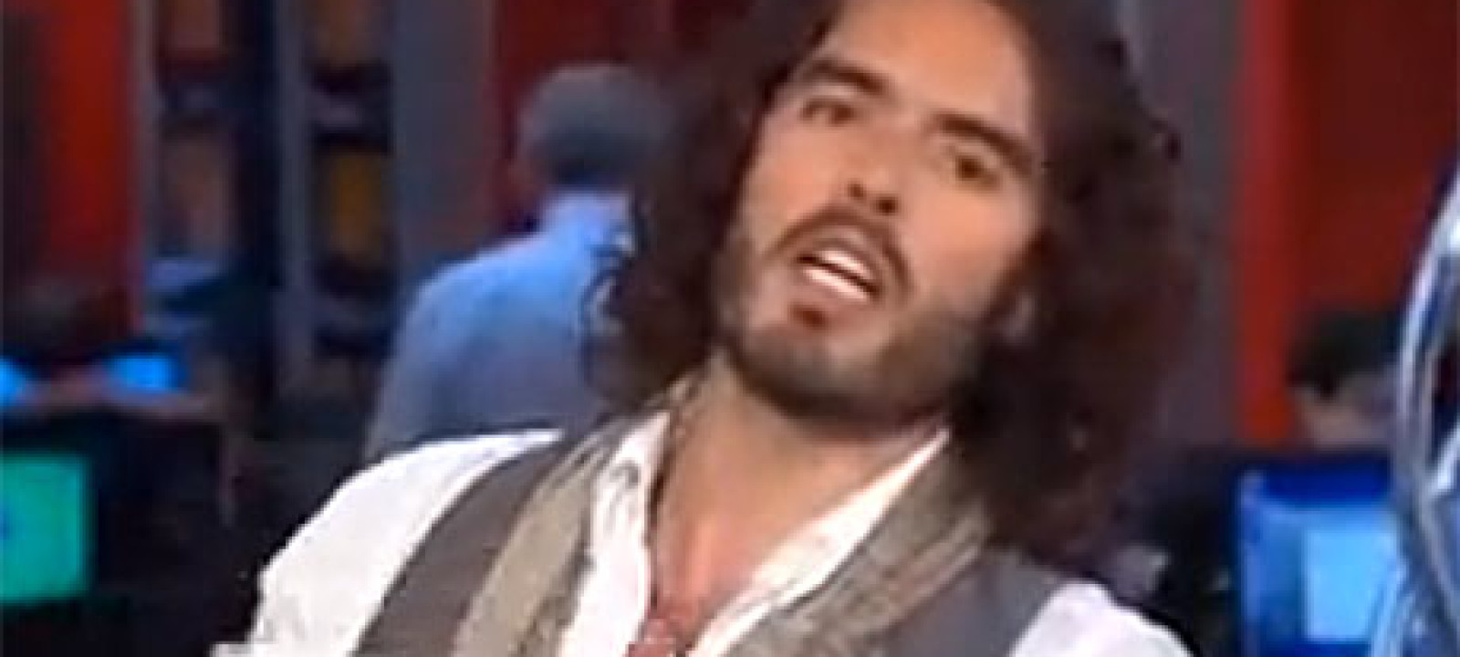 Russell Brand on MSNBC