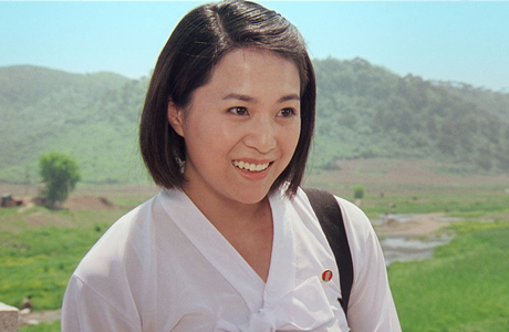 Actress Han Jong-sim, star of the North Korean-filmed romantic comedy 'Comrade Kim Goes Flying.' (Photo via official site)
