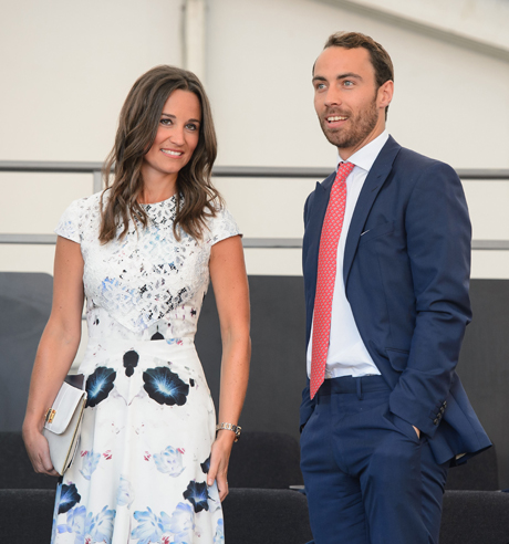 Pippa and James Middleton in the royal box. (Photo: Press Association via AP Images)