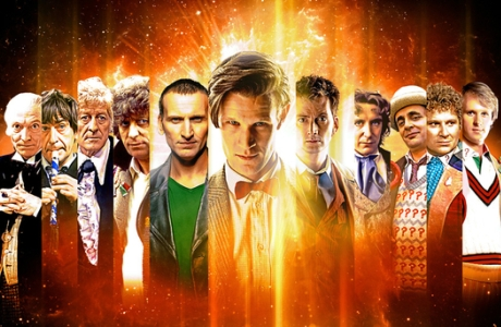 The Doctors of Doctor Who (Photo courtesy of BBC Worldwide)