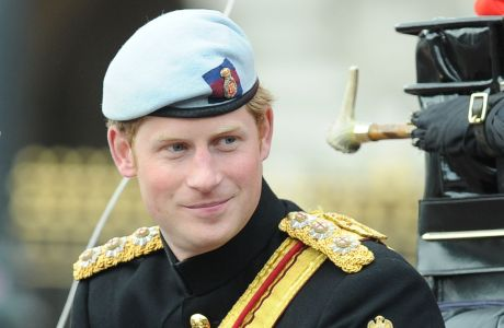Prince Harry at Trooping the Colour on June 15. (Rex Features via AP Images)