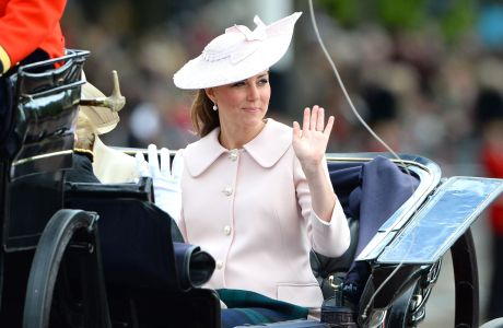 Catherine, Duchess of Cambridge at Trooping the Colour on June 15. (Rex Features via AP Images)