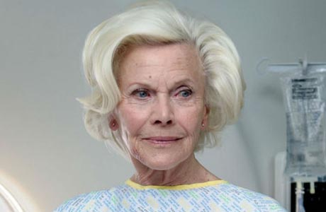Honor Blackman joins the cast of Casualty in the season premiere. (BBC)