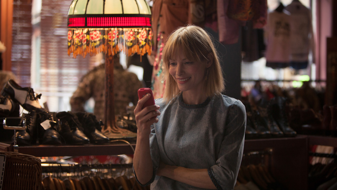 DCI Luther's new love interest, the brutally honest and optimistic vintage shop owner Mary Day.