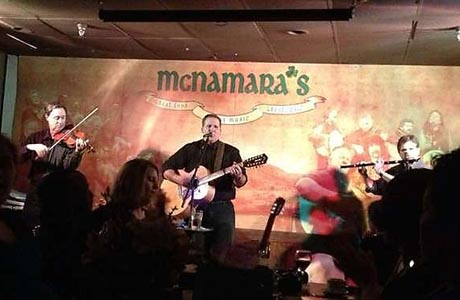 Did we already mention Nashville is a music city? ... well, saying it again! (McNamara's)