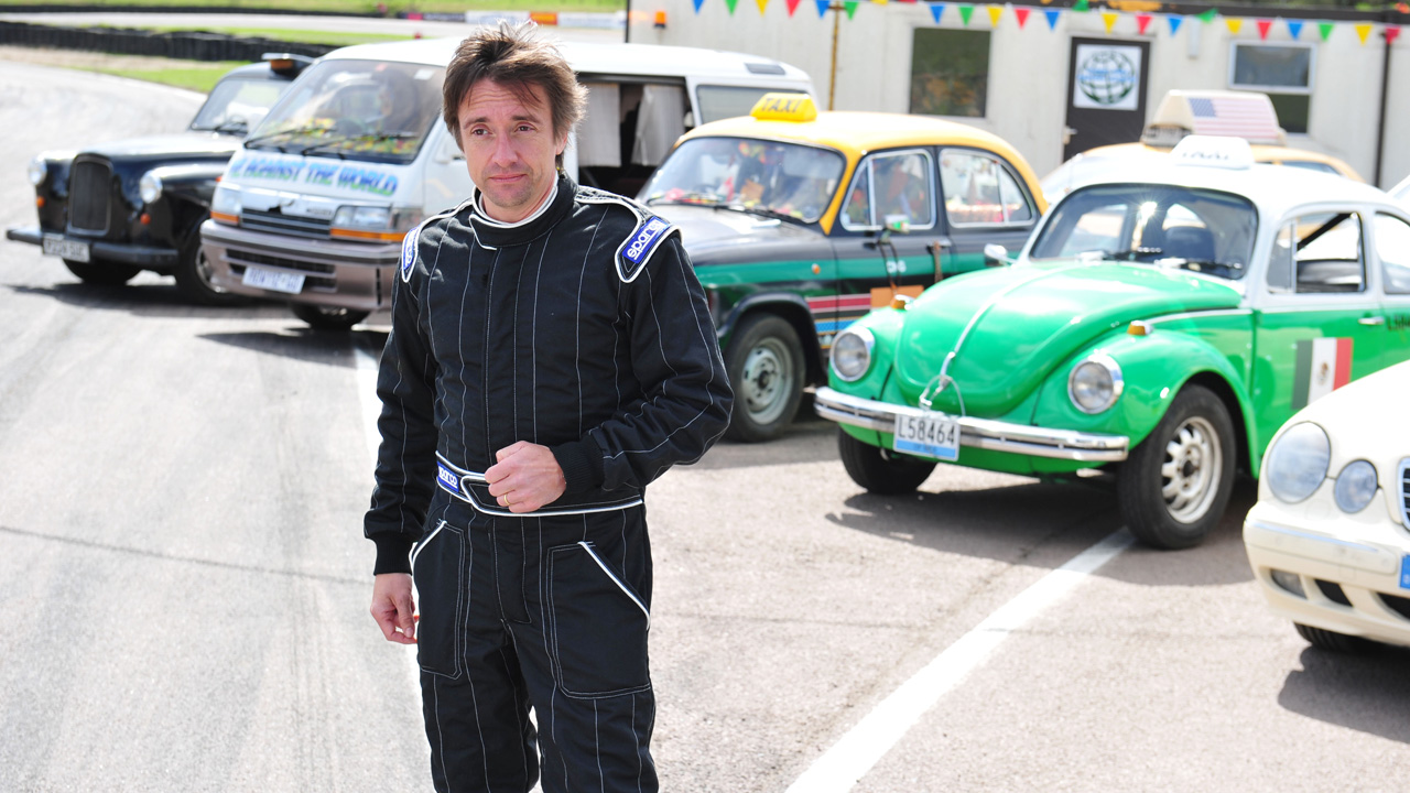 Richard Hammond ready to race the taxis of the world