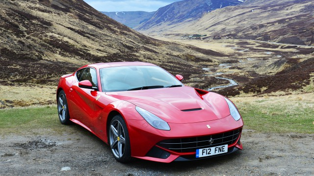 Ferrari F12 in Scotland