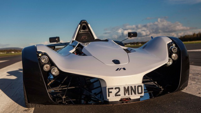BAC Mono on the Top Gear Test Track
