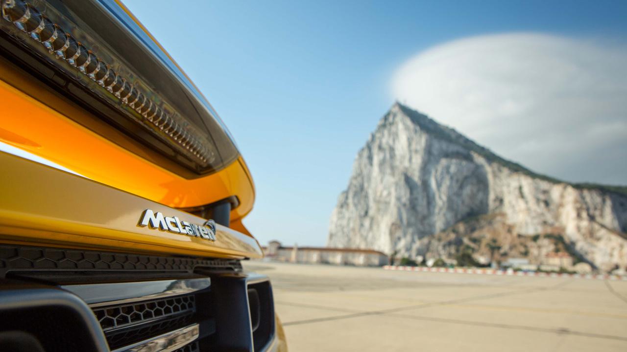 McLaren MP4-12C Spider in Gibraltar