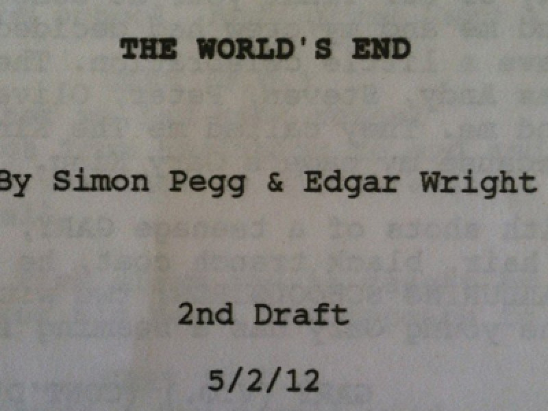 The World's End, Screenplay