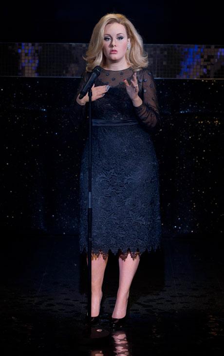Adele's waxwork