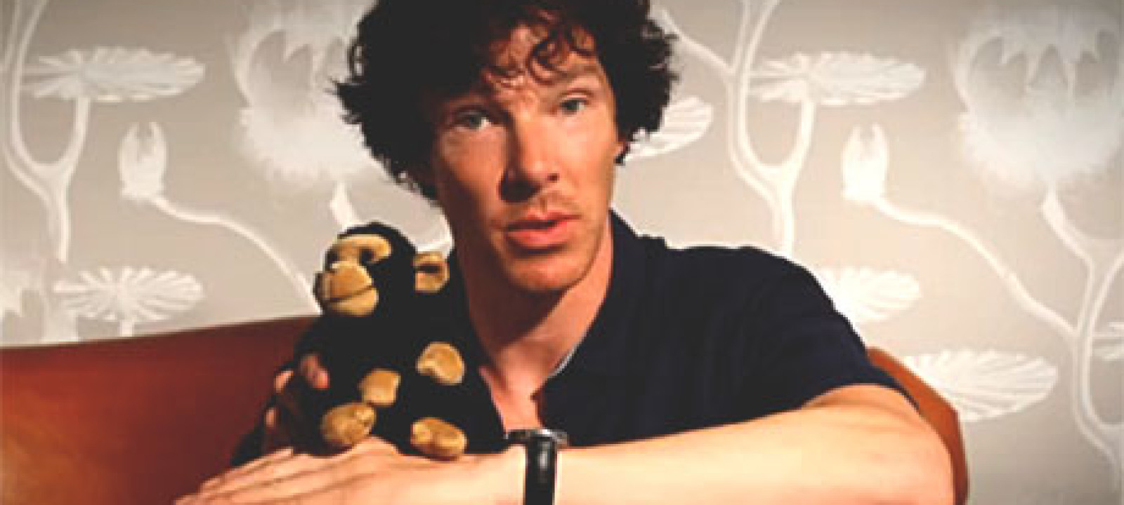 Benedict Cumberbatch and friend