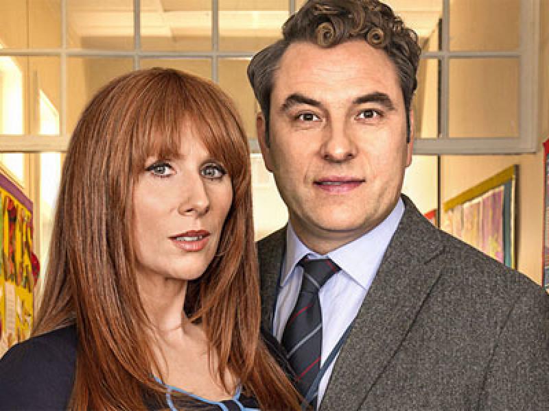 David Walliams and Catherine Tate in 'Big School'