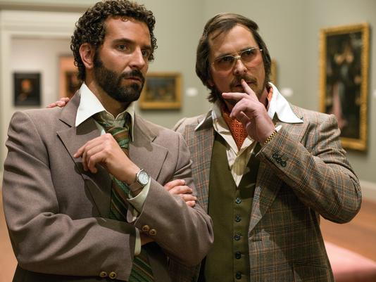 Bradley Cooper and Christian Bale in 'American Hustle'