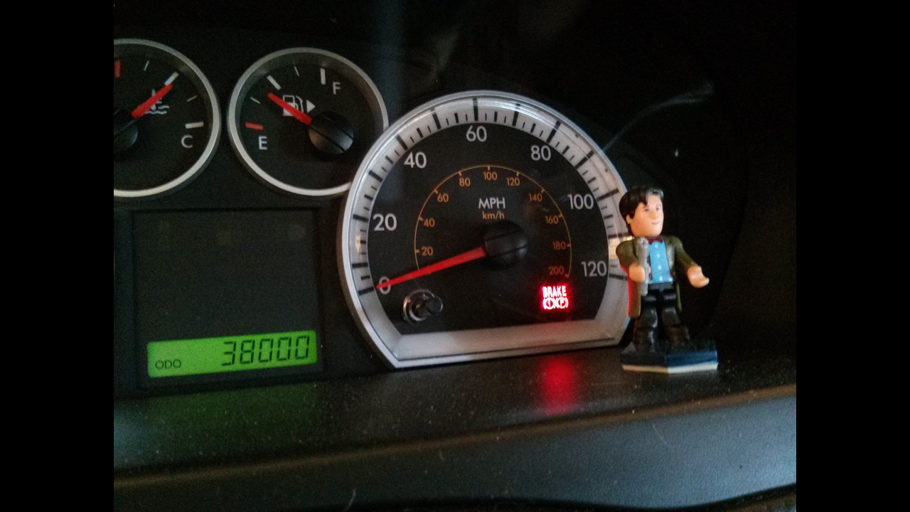 On my dashboard, watching and keeping an eye out for me. - Ian C.