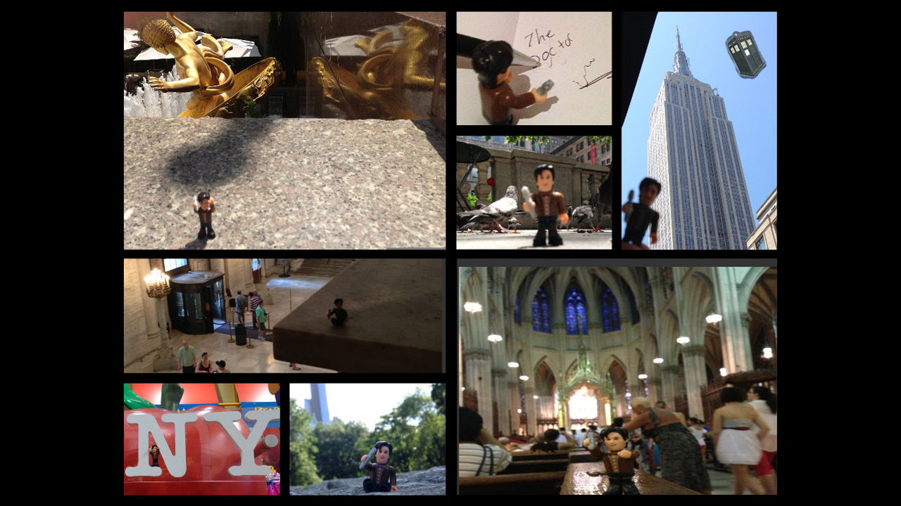Sightseeing in NYC. - Christine M.