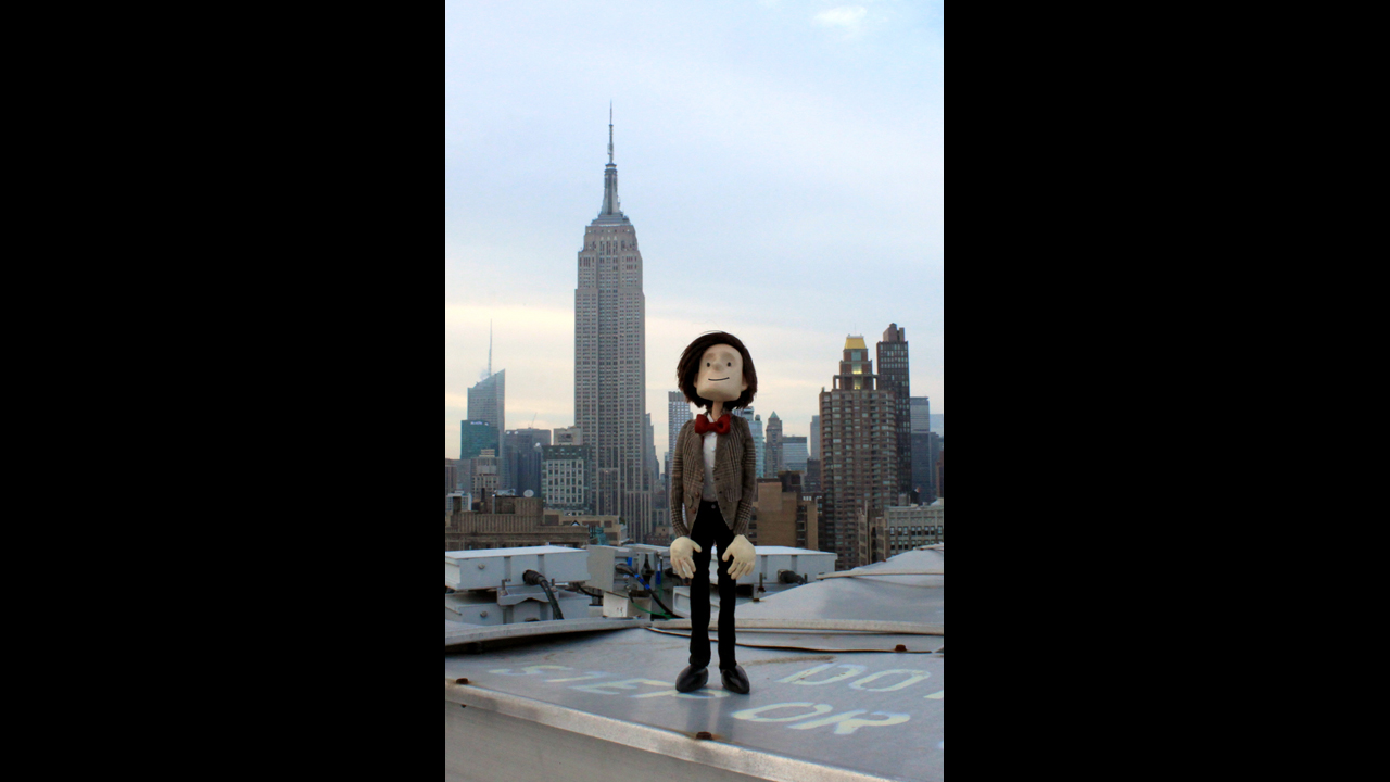 Blending in with the NYC skyline. - Alisa S. *SECOND RUNNER UP WINNER*
