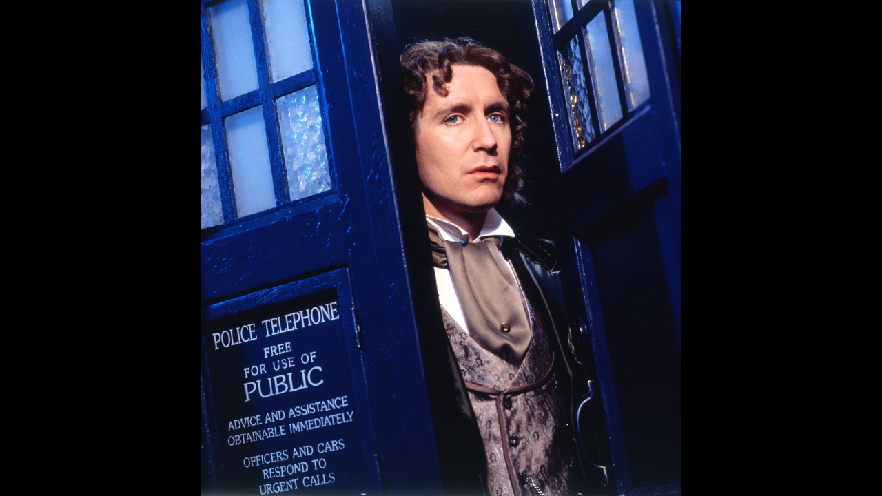 "Grace: ""Why a police box?"" The Doctor: ""Its cloaking device got stuck on a previous misadventure.""  (""Doctor Who"" TV Movie)"