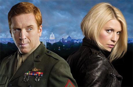 Damian Lewis and Clare Danes in 'Homeland'