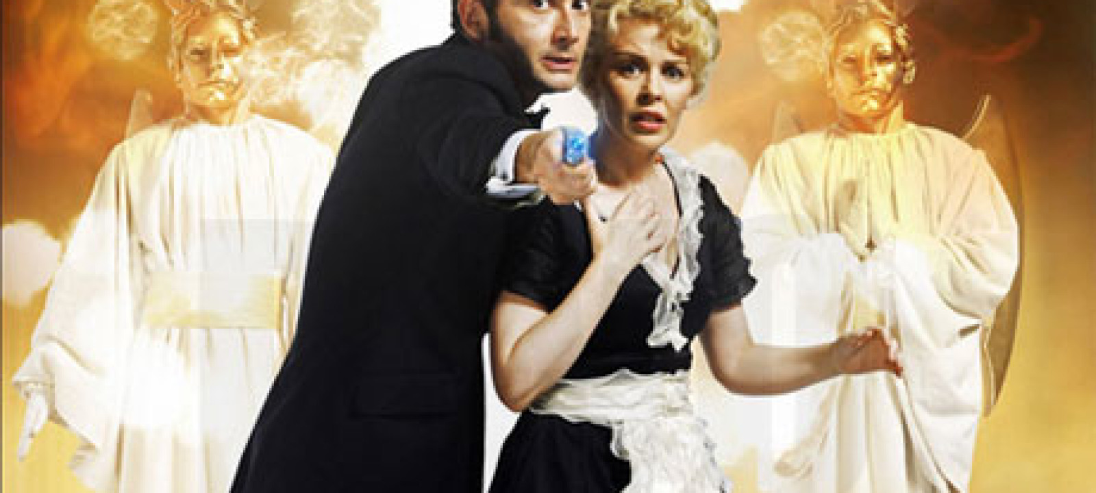 David Tennant and Kylie Minogue in 'Doctor Who'