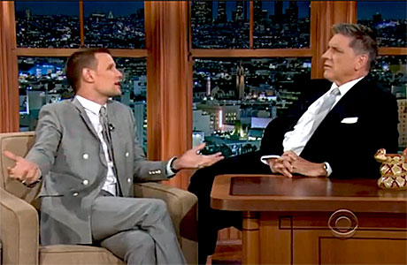 Matt Smith on 'The Late Late Show' with Craig Ferguson