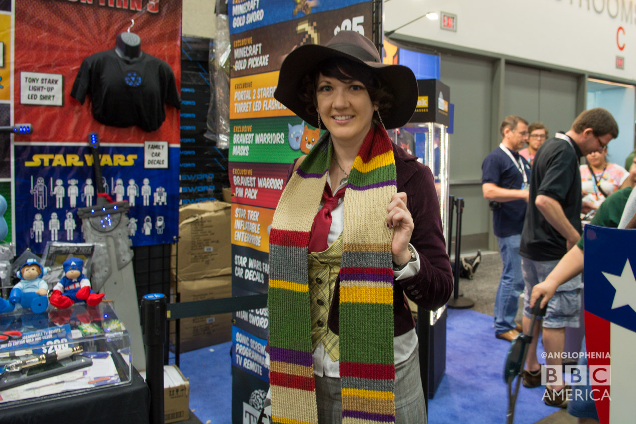 Fourth Doctor realness. (Photo: Dave Gustav Anderson)