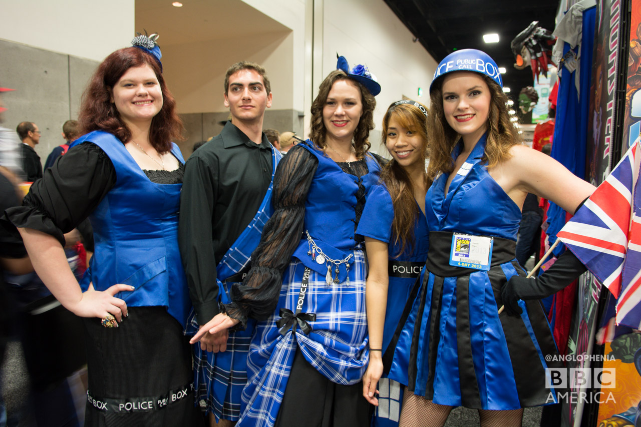 A team of TARDIS cosplayers. (Photo: Dave Gustav Anderson)