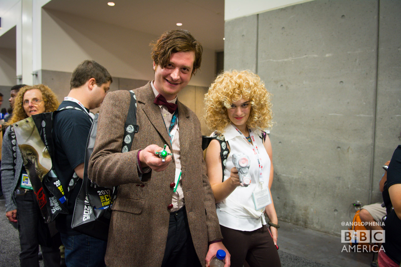 Eleventh Doctor and River Song cosplay. (Photo: Dave Gustav Anderson)