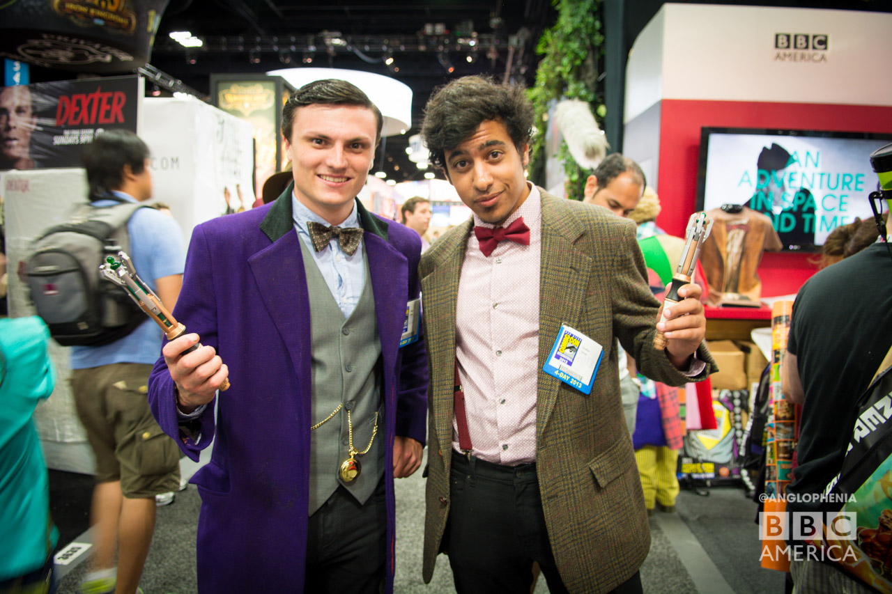 Which Eleventh Doctor cosplay is your favorite? (Photo: Dave Gustav Anderson)