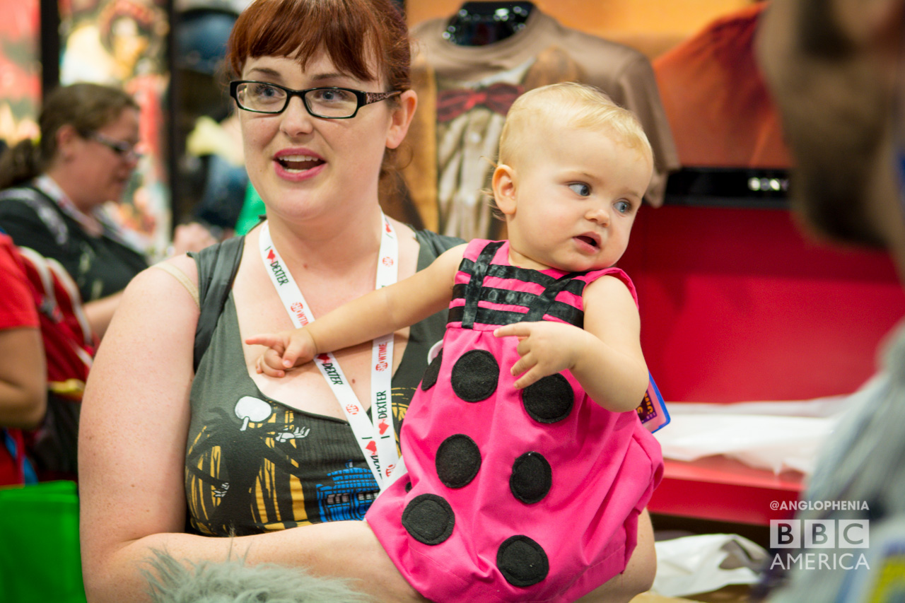 The most adorable little Dalek you'll ever encounter. (Photo: Dave Gustav Anderson)