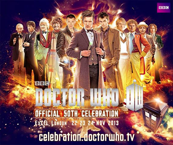 Doctor Who's 50th celebration