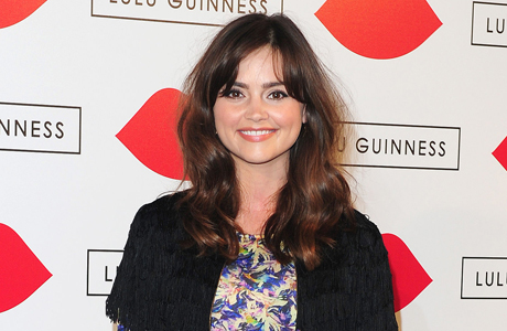 "Jenna Coleman at the ""Lulu Guinness Paint Project"" in London on July 11. (Photo: Press Association via AP Images)"