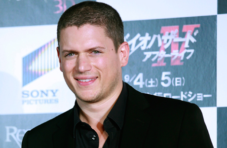 Wentworth Miller at the Tokyo premiere of 'Resident Evil: Afterlife' (Photo: AP/Shizuo Kambayashi)