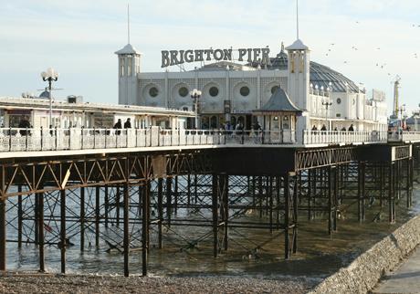 Brighton Pier (AP)