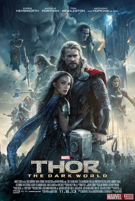 Thor, The Dark World, Poster, FINAL