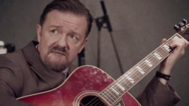 Ricky Gervais in 'Learn Guitar With David Brent'