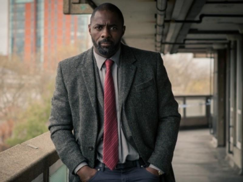 Idris Elba in 'Luther' (BBC)