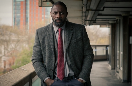The Luther movie script is announced as completed.  (BBC)