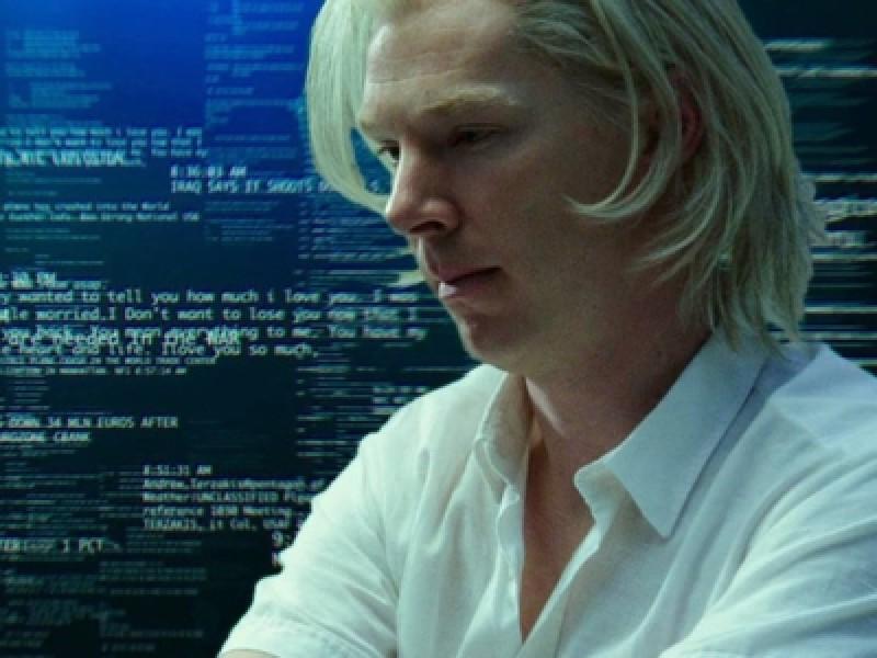 Benedict Cumberbatch in 'The Fifth Estate'