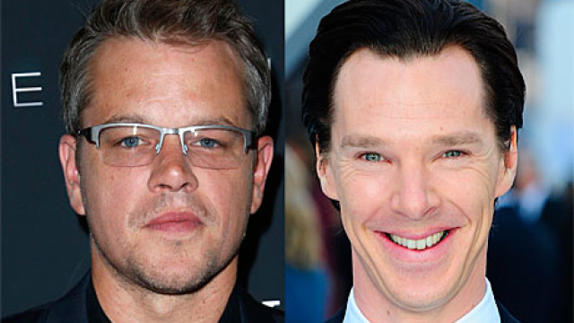 Matt Damon and Benedict Cumberbatch