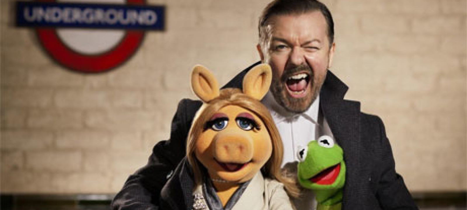 Ricky Gervais in Muppets Most Wanted
